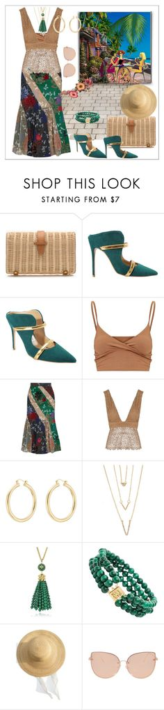 """Time to drink coffee with her friends and show them new green shoes."" by m-kints ❤ liked on Polyvore featuring J.Crew, Roland Mouret, Related, Isabel Marant, SHAN, Tory Burch, Samuji, Topshop and GREEN"