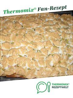 Baiserschnitten mit Rhabarber von Irifisch. Ein Thermomix ® Rezept aus der Kategorie Backen süß auf www.rezeptwelt.de, der Thermomix ® Community.