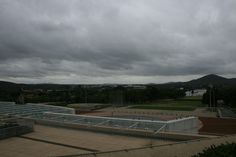 View of the bush capital from top of the new parliament house