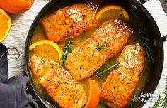 Portakallı somon balığı tarifi lezzet ve sağlıklı bir balık yemeği arayanlar için oldukça uygun bir seçim. Üstelik böylesi bir lezzeti hazırlamak için 15 dk yeterli!