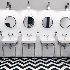 London Restaurant Bathrooms Selfies