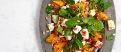 sweet potato feta salad