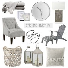 Grey is the new beige! Like beige, grey is timeless and elegant. An easy ...