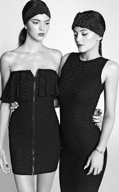 Kendall & Kylie Jenner for Marie Claire Mexico, March 2014.