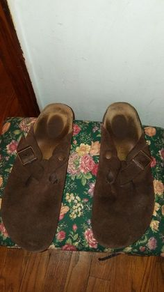 5c10b8ef19f BIRKENSTOCK Boston Suede Slip on Clogs Sandal in Brown. Size 41  fashion   clothing  shoes  accessories  womensshoes  sandals (ebay link)