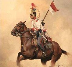 Lanceros de Alcantara 1849 Cabo 2º