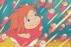 Ponyo...the most underrated movie ever!