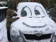 #Skoda Yeti in the snow!