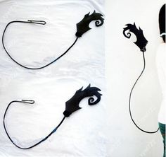 New Ao no Exorcist exorcist Rin Okumura tail Cosplay Costume Prop #Unbranded