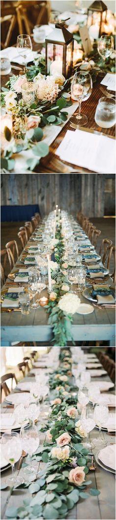 18 Rustic Greenery Wedding Table Decorations You Will Love! #Weddings #Weddingdecorations #Weddingideas #Greenery