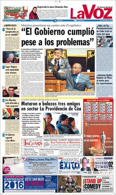 #20160224 #VENEZUELA #Guarenas #LaVOZdeGUARENAS Miércoles 24 FEB 2016 http://en.kiosko.net/ve/2016-02-24/np/ve_diario_voz.html