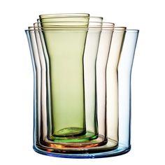 Holmegaard ホルムガード 花瓶5つセット Spectra(スペクトラ) - 北欧・フランス雑貨 オンラインショップ petitdeco*プチデコ