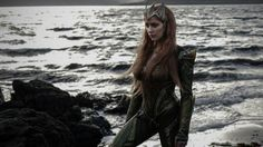 This is our first official look at Amber Heard in the role of Mera the  Queen of Atlantis in Zack Snyder's Justice League. I don't really think  Heard is that good of an actress, but she sure does look great in the role!  The film is currently shooting in Iceland where they are shooting scenes  for Aquaman's hometown of Amnesty Bay.      Fueled by his restored faith in humanity and inspired by Superman's     selfless act, Bruce Wayne enlists the help of his newfound ally, Diana     Prince…
