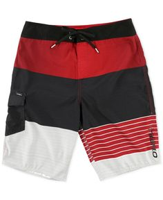 O'Neill Men's Lennox Multi-Stripe Boardshorts