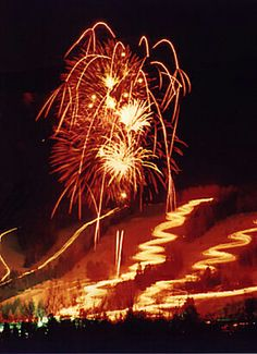 Hunter Mount Resort hosts a New Years celebration with a fireworks display.