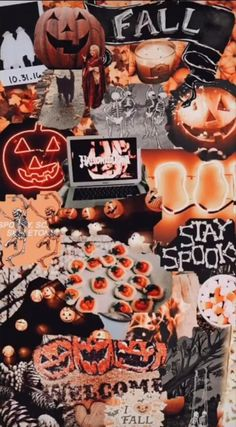 October Wallpaper, Cute Fall Wallpaper, Halloween Wallpaper Iphone, Holiday Wallpaper, Halloween Backgrounds, Fall Leaves Wallpaper, Good Vibes Wallpaper, Fröhliches Halloween, Halloween Movies