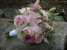 Wedding Flower bouquet design by Julie Floyd of Creative Gardens, Lee, NH http://www.creativegardensnh.com