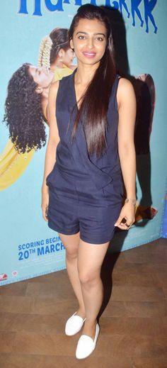 Radhika Apte at the screening of 'Hunterrr'. #Bollywood #Fashion #Style #Beauty