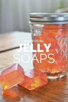 Natural & DIY Skin Care : HOMEMADE JELLY SOAPS