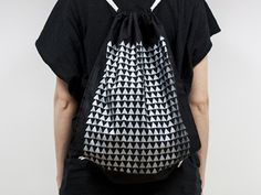 Triangle Silver Backpack / NUMOKK