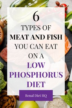Renal Diet Food List, Renal Diet Menu, Dialysis Diet, Food For Kidney Health, Kidney Foods, Foods Good For Kidneys, Healthy Kidneys, Low Phosphorus Foods, Fish You Can Eat