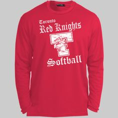 Toronto Softball 001 - Dry Zone Long Sleeve T Shirt