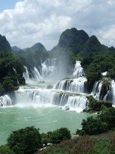 Kaieteur Falls, a high-volume waterfall on the Potaro River in the Potaro-Siparuni region of central Guyana