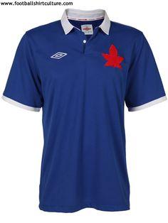 Canada 2012 Umbro Centenary Kit. Football Tops babc85ffa