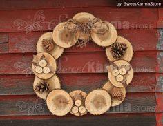 Rustic Real Wood and Burlap Fall or Christmas Wreath 22 Wood Crafts Burlap Christmas Fall real Rustic Wood wreath Christmas Wood Crafts, Christmas Projects, Fall Crafts, Holiday Crafts, Christmas Wreaths, Burlap Christmas, Etsy Christmas, Silver Christmas, Christmas 2016