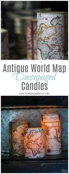 Antique World Map De