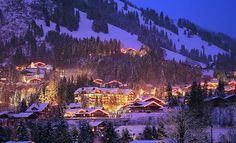 Grand Hotel Park in Gstaad, Switzerland