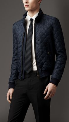 Military Quilted Blouson | Burberry