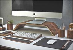 Desk Collection par Grovemade : le bureau en bois | Oncle Pape