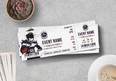 Ticket Template Ticket Template, Banner, Templates, Banner Stands, Stencils, Banners, Western Food