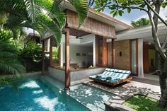 One Bedroom Villa at the Elysian in Seminyak, Bali-- Between $324-340 a night but has a private pool!!!