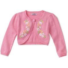 Hartstrings Girls 2-6X Floral Shrug Sweater $52.00