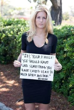 12 Quotes Said To Sexual Assault Survivors By Their Family Members --- Jesus Christ this is so awful...