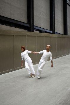 Trisha Brown - Leaning Duets (Tate Modern, London, 2010)