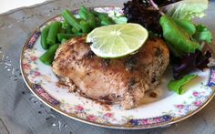Caribbean Jerk Chicken - this looks both tasty and easy to cook!