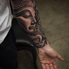 buddha forearm tattoo - Google Search