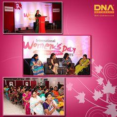 Celebrating women at #Honeywell Women's Day celebration.