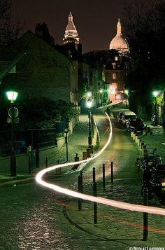 Montmartre - Rue de l'Abreuvoir - Paris 18e mip
