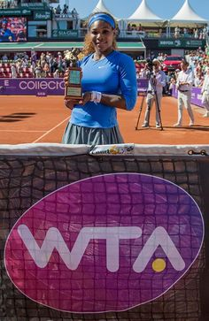 World #1 Serena Williams Wins 53rd Career Title! ... Serena won her 1st International tier title in Bastad with a 6-4, 6-1 victory over Sweden's #1 Johanna Larsson in the Swedish Open Tennis. Serena is tied with Monica Seles for 9th most Titles All-time. 7/21/13 #Greatness  #TeamSERENA