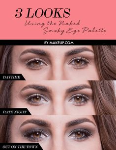 Finally got yourself an Urban Decay Smoky Eye palette?? Here are 3 eyeshadow looks to try with it!