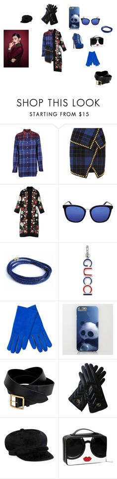 """ColdGucciGang"" by sebastians ❤ liked on Polyvore featuring Tommy Hilfiger, Balmain, Dolce&Gabbana, Gucci, Portolano, Alexander McQueen, Daniel Wellington and Forever 21"