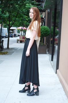 Street Style: Megan Steals Her Friend's Shoes