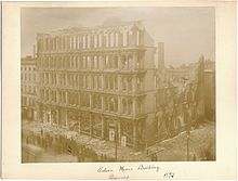 Edson,_Moore_&_Co_Building_After_Fire in 1893.