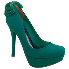 Sapato em couro - Sapatos - Scarpin - ESMERALDA 13-3201 - Coleção Inverno 2013 Calçados Femininos Via Marte