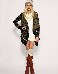 Lots of warm cozy layers.