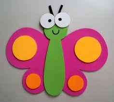 Resultado de imagen para mariposas foami